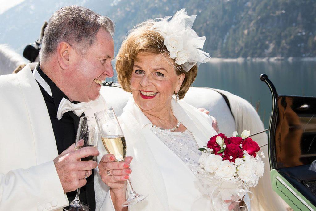 Hochzeitsfotograf Achensee Rolf Kaul Hochzeit Brautpaar
