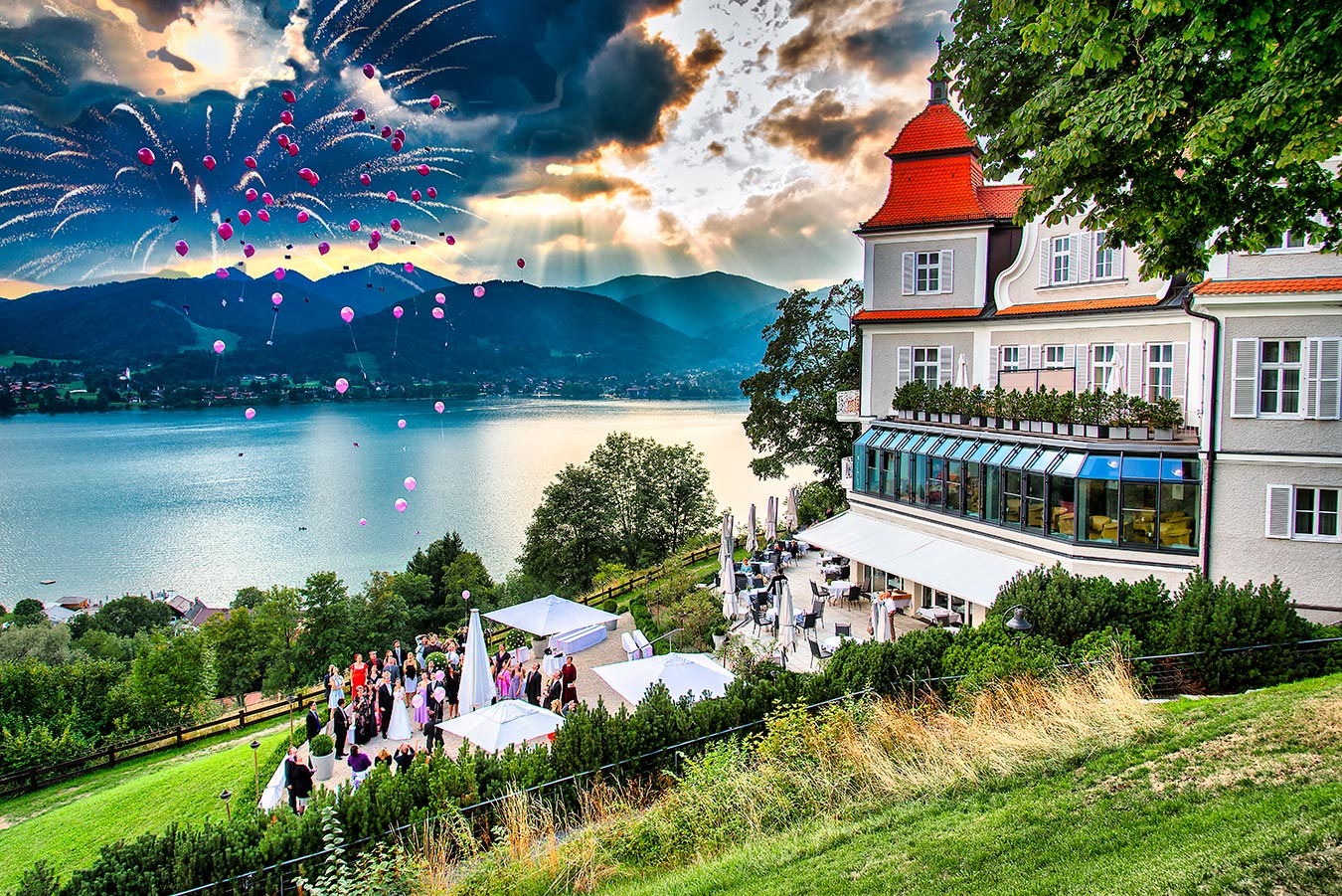 Fotograf Tegernsee Rolf Kaul Hochzeitsfotograf Tegernsee - Das Tegernsee