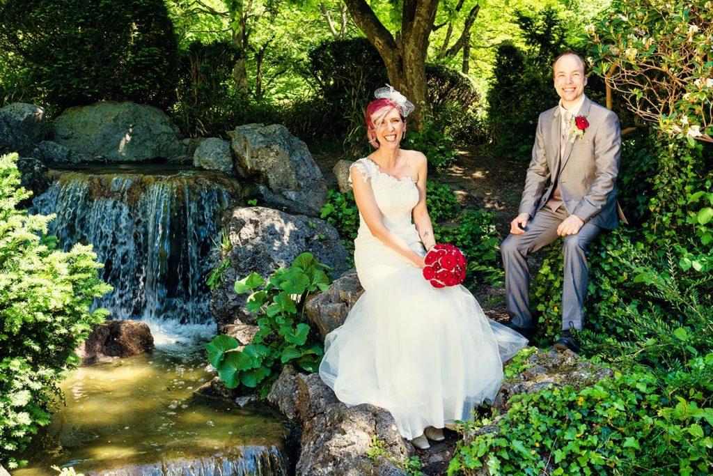 Muenchen Rolf Kaul Hochzeit Hochzeitsfoto Hochzeitsfotograf Wasserfall